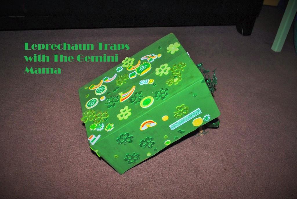 www.thegeminimama.com Leprechaun Traps