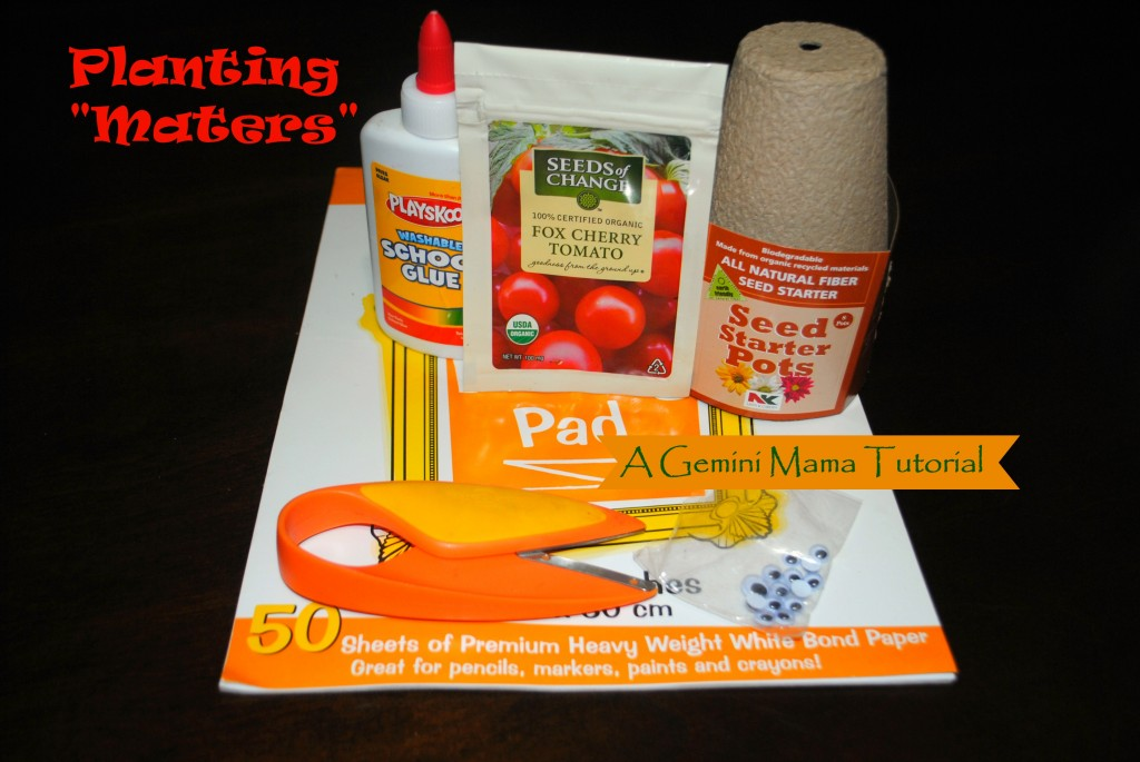 Planting Maters Tutorial